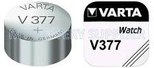 VARTA V 377 SR 626 SW 1.55 SILVER BUTTON CELL BATTERIES (10) PACK