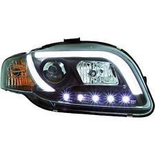 Paar leuchttürme scheinwerfer vorne TUNING tubelight AUDI A4 04-07 schwarze,H1+