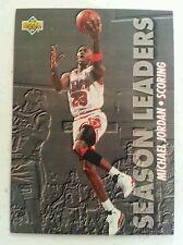 Michael Jordan 1993 94 Scoring Season Leaders Upper Deck Card 166