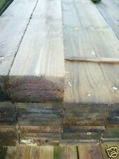 TEN 3m x 150mm x 22mm rough sawn treated timber