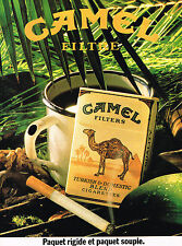 PUBLICITE  1984   CAMEL  cigarettes