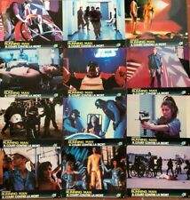 RUNNING MAN. 12 photos cinema lobby cards. Arnold Schwarzenegger