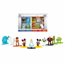 Disney Nano Metalfigs Mini Diecast Metal Figure Toy Set 10 Pack