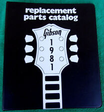Gibson Guitar Illustrated Parts Lists Binder Les Paul ES Series Flying V & More!