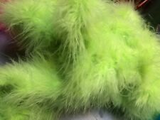 Halloween Lime Green Special Offer On Marabou Feather Boa 10metres