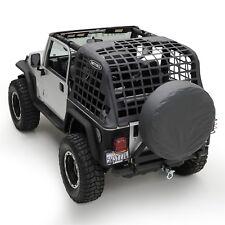 Smittybilt C.RES System Cargo Net 1997-2006 Jeep Wrangler TJ 561035 Black