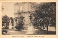 NEUILLY-sur-SEINE - Jardin de l'Hôtel de Ville