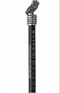 Roman Owl Pewter Pencil Topper