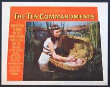 THE TEN COMMANDMENTS NINA FOCH 1956 LC 6