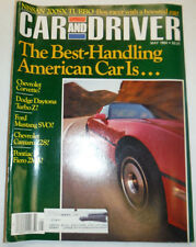 Car And Driver Magazine The Best Handling Car May 1984 032515R