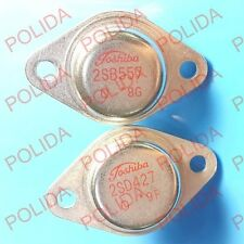 1pair or 2PCS Transistor TOSHIBA TO3 2SB557/2SD427 B557/D427 100%Genuine and New
