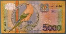 SURINAME SURINAM 5000 5 000 GULDEN NOTE ISSUED 01.01. 2000, P 152