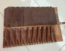 Japan Koch Messertasche Rolltasche Messer Leder Küchenmesser Messerkoffer Roll