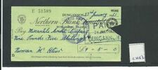 Northern Bank Cheques