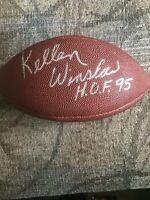 "KELLEN WINSLOW ""H.O.F. 95"" JSA AUTHENTICATED AUTOGRAPH FOOTBALL"