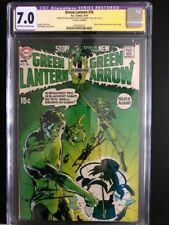 Green Lantern 76  CGC 7.0 SSx2 (Neal Adams/Denny O'Neil) 1st Neal Adams --> KEY!