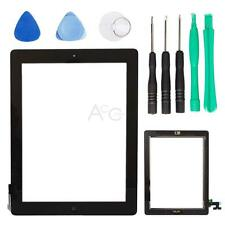 New Touch Screen Digitizer Glass Lens w/Home Button Assembly for iPad 2G Black