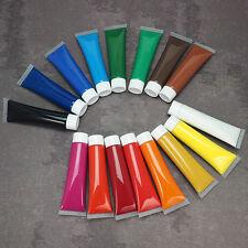 (1,92€/100ml) Acrylfarbe Set 16 x 36 ml Tuben Mal Farbe Acryl Farben Set Kunst