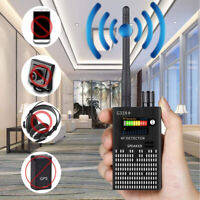 NEW Anti-Spy Signal Bug RF Detector Hidden Camera Lens GSM Device Tracer Finder