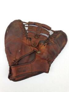 Vintage 1940's JC Higgins Lew Fonseca 1679 First Base RHT Baseball Mitt Glove