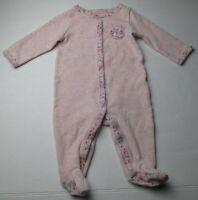 Infant Baby Girls 6 months Carter's Pink Bear Outfit