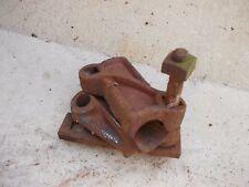 Jd Ih Case plow rolling rollin cutter mounting holder bracket to plow P01386A