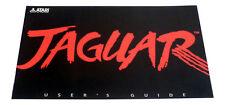 Atari Jaguar Console System Users Guide Instruction Manual - Multi Language