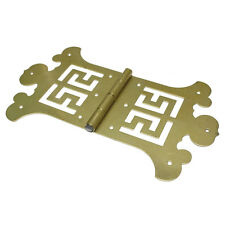 1 x Brass Metal 142x84mm Furniture Box Cabinet Butterfly Decor Hinges J.C KOR