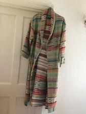 Womens Southwestern Western Indian Serape Robe Ralph Lauren Size M/L