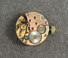 OMEGA 17 JEWELS WRIST WATCH LADIES MECHANICAL HAND WINDING MOVEMENT # MM695
