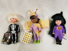 Barbie's Little Sister Kelly Dolls Halloween Costumes Witch Skeleton Butterfly