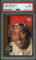 1996-97 Upper Deck Kobe Bryant Rookie PSA 10 Gem Mint RC #58 LALakers HOF