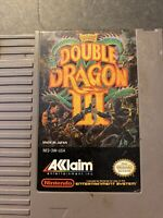 Double Dragon III 3 (Nintendo Entertainment System NES) Cart Only GOOD