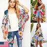 Women's Loose Blouse Summer Casual Boho Coat Shawl Kimono Cardigan Tops