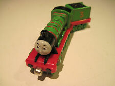 Diecast Henry with tender for Thomas Trains Take N Play or Take Along Railway