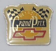 Detroit Grand Prix Pin - Probably From Original First Year Race 1982 - Yellow