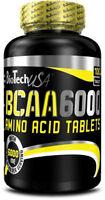 Biotech USA BCAA 6000 - 2:1:1 Ratio Isoleucine, Leucine and Valine FREE P&P