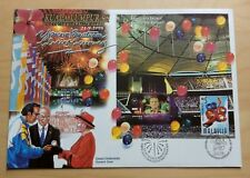 1998 Malaysia KL'98 Commonwealth Games Preprinted Stamp FDC (Bukit Jalil Cachet)