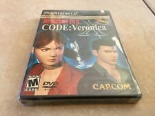 Resident Evil -- CODE: Veronica X 5th Anniversary Sony PlayStation 2, 2002  NEW