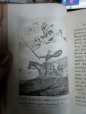 Cervantés Don Quichotte traduction de Florian 6 t en 3 vol complet 1809 gravures