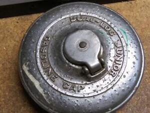 DUAL-LOG JUNIOR GASOLINE GAS CAP LOCKING KEY PACKARD CUSHMAN TOPPER CHOPPER BOB