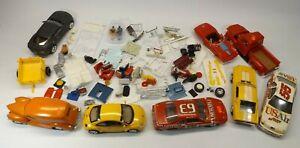 Junkyard Model Car 1/24 1/25 Built Lot & Many Parts Decals Seats Engines & More