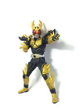 Masked Kamen Rider Kuuga Rising Ultimate Form Gold BANDAI Action Figure Size 4""