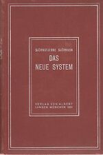 Björnstjerne Björnson: Das neue System (Schauspiel)  Dt. Erstausgabe 1901