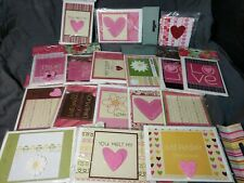 Handmade love notes. Pre-packaged in sets of 2. Great for resale.