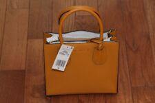 NWT Michael Kors Studio Mercer Medium Messenger Crossbody Handbag Tote Marigold