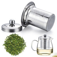 Reusable Mesh Infuser Tea Strainer Leaf Stainless Steel For Teapot Pratical AU