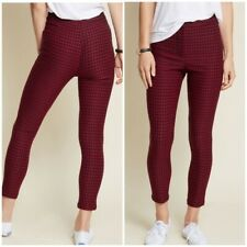 ModCloth Sophisticated Synergy Pants Red Plaid NWT