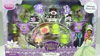 Girls Disney Princess Tiana and the Frog Tea Party Serving Set 30pc Age 3+