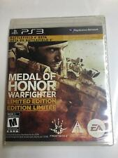 Medal of Honor Warfighter Limited Edition (PS3) Playstation 3 NEW SEALED PACKAGE